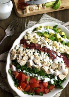 Skinny Cobb Salad | Tasty Kitchen: A Happy Recipe Community!