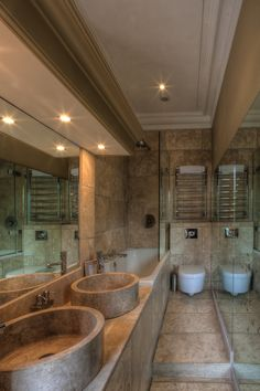 Linen room bathroom