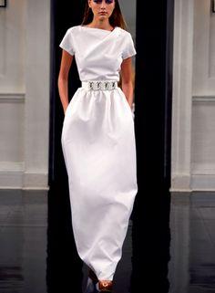 Modern Wedding Gowns: Victoria Beckham Spring/Summer 2011   Modernly Wed