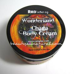 Beauty Au Natural: Rad Soap Co's Wonderland Chaga Body Cream