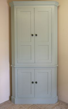 Complete your corner with our tall larder corner cupboard this larder