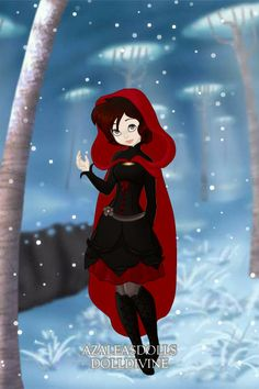 Ruby Rose - RWBY ~ by anastasia95 ~ created using the Pixie doll maker | DollDivine.com