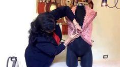 chaleco redondo tejido con dedos - Tejiendo con Laura Cepeda