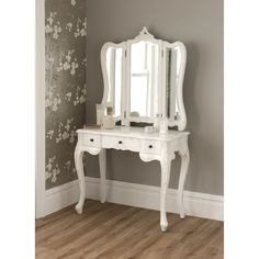 La Rochelle Antique French Dressing Table