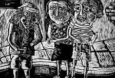 A sangre fría  Ilustración: Luis Lamothe