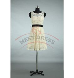 Charming Homecoming Dresses,Lace Homecoming Dress,O-Neck Homecoming Dress,A-Line Homecoming Dress