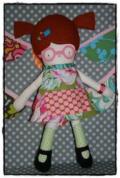 Fabric Cloth Plush Rag Doll with