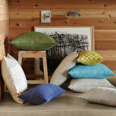 West Elm India Pillows