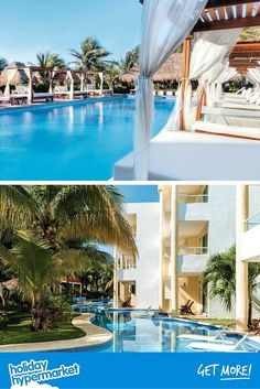 This hotel is the definition of luxury. At the Sensimar Sunshine Suites and Spa you can sunbathe on a four-poster day bed (yes, really) and have your own poolside waiter, how cool is that? If this is your dream holiday – and why wouldn't it – click on the image for more details.