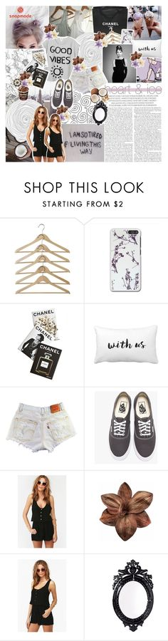 """♔; ""i don't know how it happened"""" by the-forgotten-wolf ❤ liked on Polyvore featuring Chanel, Assouline Publishing, Vans, Clips, Again, Authentic Models, Belle Maison, collaboration and snapmade"