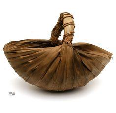 Africa | Basket ~ gabakan ~  from the Diola people of Senegal.  Vegetable fiber | 20th century
