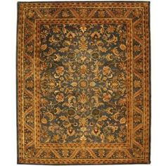 Safavieh Antiquity Rebecca Hand-Tufted Wool Area Rug, Gold