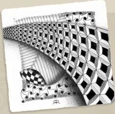 I love Zentangles! by bridgett