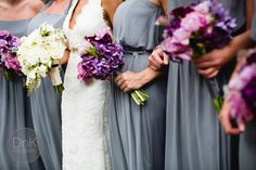purple and gray wedding | MN Wedding