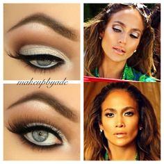 I luh ya papi #jlo makeup #makeupideas #cutcrease