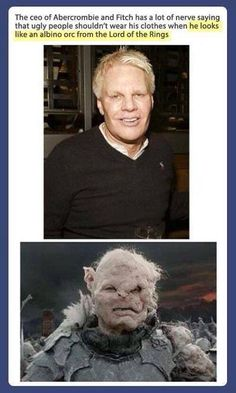 Abercrombie and Orcs