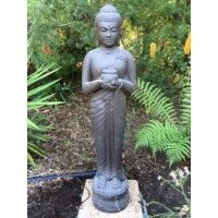 Beautiful Statue Available from Water Features Direct Display Homes, Water Features, Natural Stones, Garden Sculpture, Custom Design, Landscape, Outdoor Decor, Statue, Beautiful