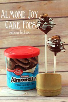 Almond Joy Cake Pops - Pint Sized Baker