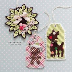 Nana Company Holiday gift tags
