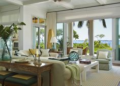 Florida Residence - Family Room by Gary McBournie Inc. - Lookbook - Dering Hall
