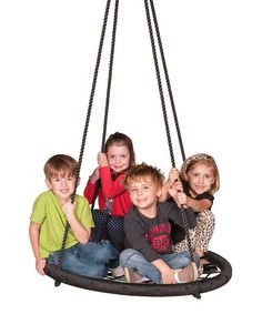 This Web Riderz Nest Tire Swing by M&M Sales Enterprises is perfect! #zulilyfinds