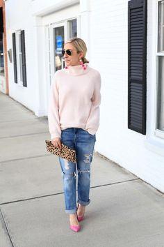 Stunning in pink #Fashionista