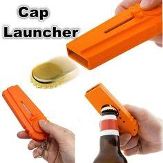 Compact Flying Cap Zappa Beer Drink Bottle Opener Opening Cap Kichen Tool AF