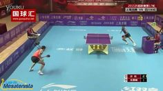 Xu Xin vs Zhu Linfeng - Best point in the history of table tennis