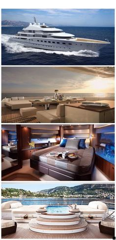 Yacht Life just feels so damn good. Luxury Yacht Interior, Luxury Cars, Luxury Homes, Luxury Vinyl, Jets Privés De Luxe, Dream Cars, Jet Privé, Grand Luxe, Cool Boats