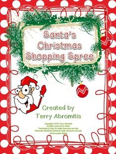 Santa's Christmas Shopping Spree - 5.NBT.7 CC Decimals