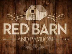 Logo Design for the Red Barn & Pavilion at Bauer Ranch