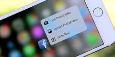 Facebook Messenger perfeccionó el soporte para 3D Touch - http://j.mp/29Pz5RB - #3DTouch, #FacebookMessenger, #IOS, #Noticias, #Sobresalientes, #Tecnología