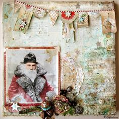 Mixed Media Place: Guest Designer Olga a/k/a Belladonna - Father Winter