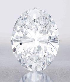 Magnificent Oval Diamond set for $35 million Sotheby's sale