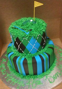 Great golfing cake