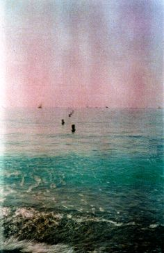 Grainy Sea.  Expired film.  © Chris Trew / Plastic Cameras 2012