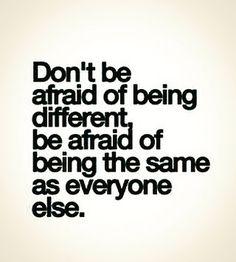 #freewill #sundayvibes #different #afraid #positivity #positivethinking #quoteoftheday #quotestoliveby #pma #livewell