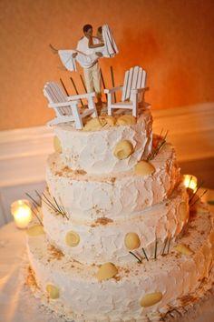 Great 50th wedding anniversary cake...