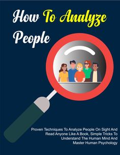 How to Analyze People: Proven Techniques to Analyze People on Sight and Read Anyone Like a Book - #readinglover #hotreads #iamreading #ilovebooks #booksworthreading #summerreads #booklover #freeebook #greatbook #bookreviewblog #readersareleaders #weekendreads #writer #romance #bookaddict #booklovers #libri #amazonbookstore #amazonespa #kindleespa #ebooks #amazonbookseller #bestseller #kids #instabook #mustread #libro #kindlebooks #children #oceans Best Books To Read, I Love Books, New Books, Good Books, Amazon Coloring Books, Book Review Blogs, Word Pictures, Poetry Books, Literatura