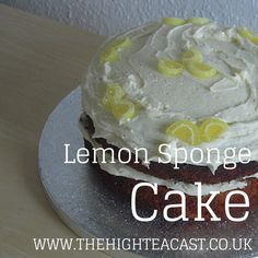For a sweet, zingy and zesty cake, you don't have to look much further then the mighty lemon sandwich cake. Here's a simple recipe.