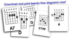20 free giant guitar chord diagrams to download and print for your teaching studio wall?
