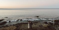 Brit and Matt, together, at the edge of the world.  #Documentaryweddingphotography #brisbaneweddingphotographer #vsco #wedding #weddingday #weddingdress #weddingphotographer #destinationwedding #destinationweddingphotographer #documentaryweddingphotographer