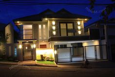 Real Estate House for Sale at Filinvest Homes 2 in Quezon City 2 Storey House Design, House Front Design, Small House Design, Modern House Design, Manila, Philippine Houses, Quezon City, Two Story Homes, Real Estate Houses