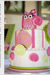 Owl Cake by Social Bites of Ruston