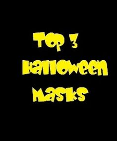 TOP 3 HALLOWEEN MASKS! at my website LOLGifts.co.uk!