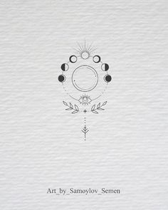 moon phases botanical illustration moon phases botanical illustration tattoo - tattoo quotes - tattoo fonts - watercolor tattoo - dog tattoo - tiny tattoo - flower tattoo - mermaid tattoo - diy tattoo - diy tattoo images - diy tattoo i Mini Tattoos, Cute Tattoos, Beautiful Tattoos, New Tattoos, Body Art Tattoos, Crown Tattoos, Heart Tattoos, Tatoos, Diy Tattoo