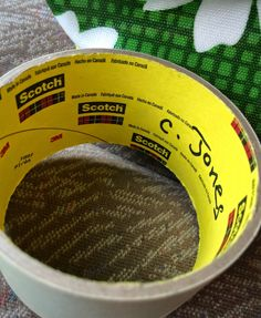 i Heart Second {By The Think Aloud Cloud}: You Oughta Know About This Masking Tape Trick