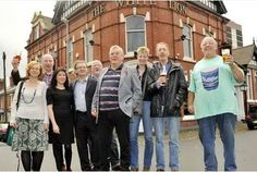 """Congratulations to the regulars of the White Lion in Caldmore, Walsall in successfully listing their pub. Chair of the Caldmore Heritage Group Phil Buckley said: """"This a major achievement for the group and for all the people of Walsall,"""" said Phil Buckley, chair of the group.   """"Our main aim in applying for the landmark status was to draw attention to the importance of this amazing pub's contribution to the life of the local community and to help it to continue to thrive in the future."""""""