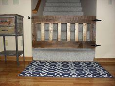 Charmingly Frugal: Baby Gate DIY