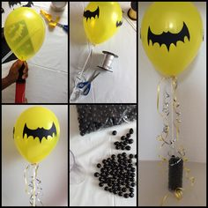 Discover recipes, home ideas, style inspiration and other ideas to try. Batman Party Foods, Batman Party Games, Batman Party Supplies, Batman Party Centerpieces, Batman Party Decorations, Birthday Decorations, Halloween Decorations, Batman Birthday, Superhero Birthday Party